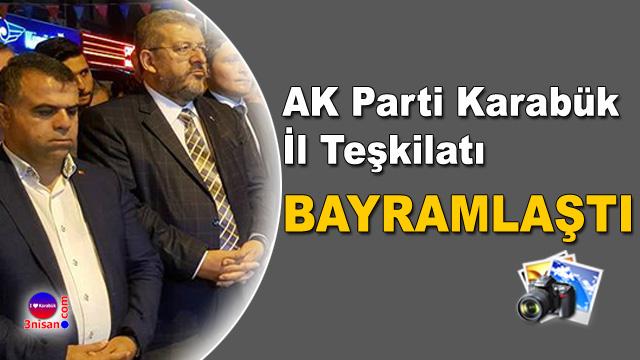 AK Parti Karabük İl Teşkilatı Bayramlaşması