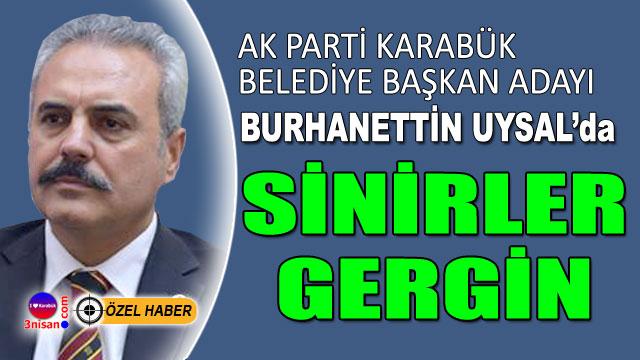 AK Parti Karabük'te gerginlik