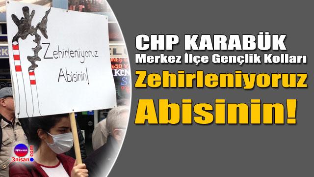 CHP Karabük Gençlik: Zehirleniyoruz