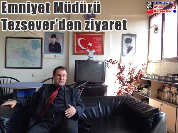 Karabük Emniyet Müdürü Serhat Tezsever'den BATI TV'ye ziyaret