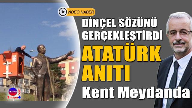 Erdoğan Dinçel sözünü gerçekleştirdi