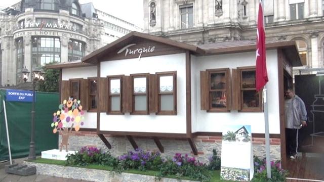 Paris'te Safranbolu evleri