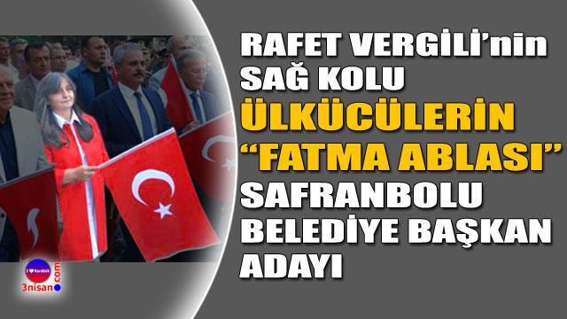 Fatma Danışman MHP Safranbolu Belediye Başkan Adayı