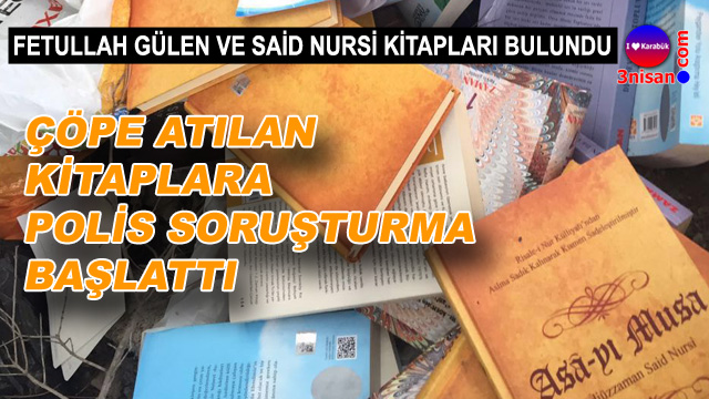 Fetullah Gülen'in kitapları çöpe atılmaya başladı
