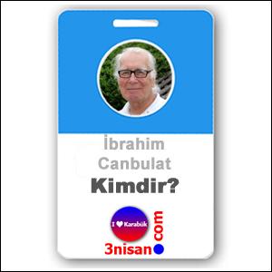 İbrahim Canbulat Kimdir?