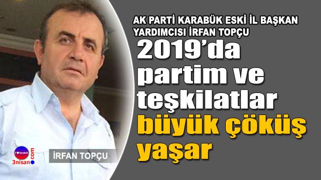 AK Parti Karabük önceki İl Başkan Yardımcısı Topçu'dan açıklama