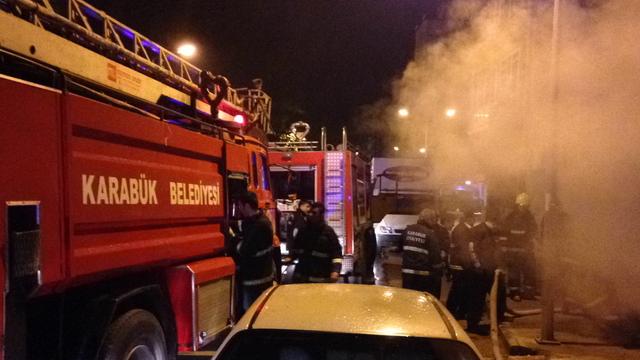 Karabük'te yangın korkulu anlar yaşattı
