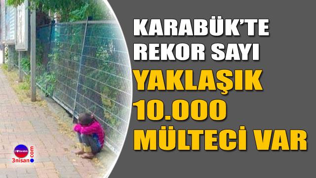 Karabük'e mülteci akını
