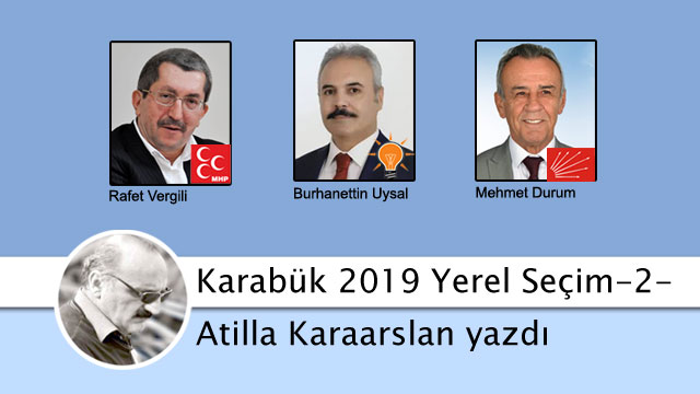 AK Parti tabanı Karabük'te MHP adayına oy verir!
