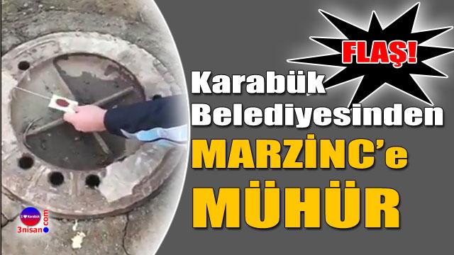 Marzinc'in bağlantısı mühürlendi
