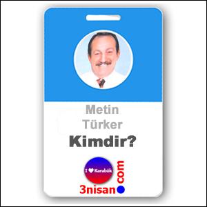 Metin Türker Kimdir