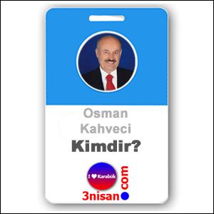 Osman Kahveci Kimdir?