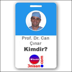 Prof. Dr. Can Çınar Kimdir?