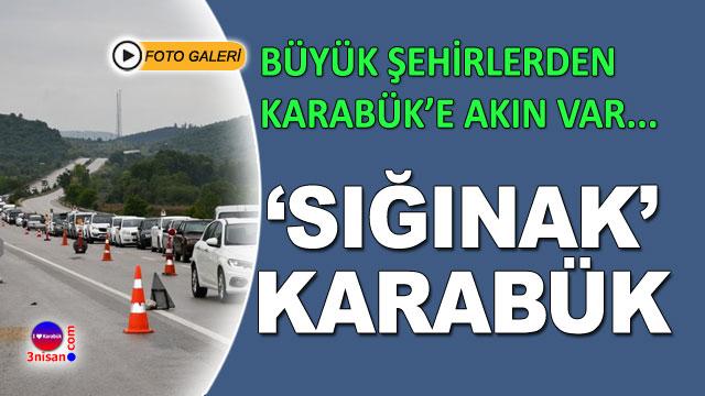 Seyahat yasağı kaldırıldı Karabük'e akın var