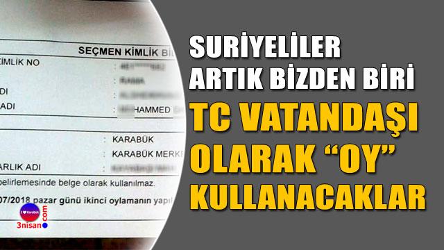 TC vatandaşı olarak 24 Haziran'da oy kullanacaklar