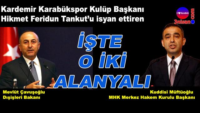 Kardemir Karabükspor'dan Dışişleri Bakanı'na çağrı