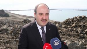 Bakan Varank 100 yılın projesi Filyos'u yerinde inceledi