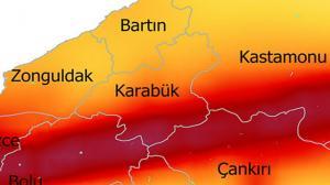Güncel 2019 Deprem Haritasına göre Karabük