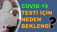 Karabük'te Berber ve Kuaförlere Covid-19 testi yapıldı