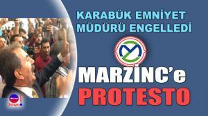 Marzinc'in ÇED Toplantısı tepki nedeniyle iptal edildi