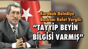 'Tayyip Bey'in de bilgisi var denildi!'
